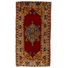 Mid-20th Century Turkish Oushak Rug
