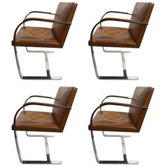 Set of Four Knoll Brno Chairs