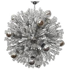 Sputnik Snowball Chandelier by Emil Stejnar for Rupert Nikoll