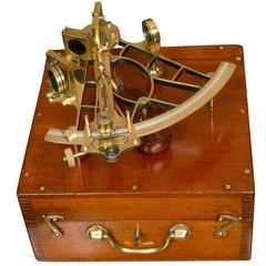 Vernier Sextant by Heath and Company, London