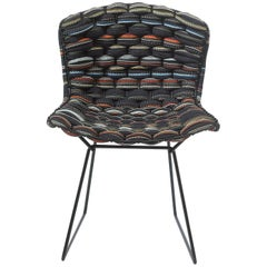 Bertoia Multi-color Loom Chair by Clément Brazille, Handmade in France