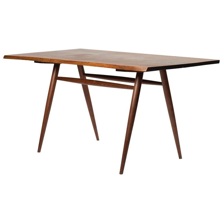 George Nakashima Walnut Dining Table / Desk