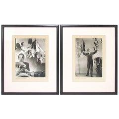 Pair of Silver Gelatin Photographs by Alfredo Valente