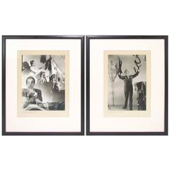 Pair of Silver Gelatin Photographs by Alfredo Valente