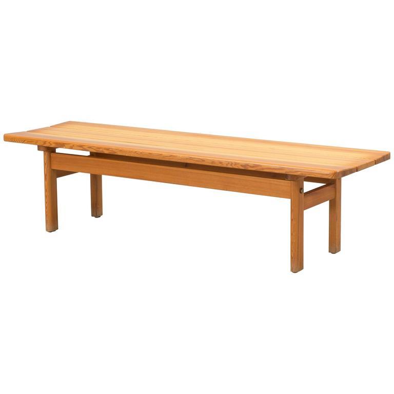 Pine Bench by Danish Designer Børge Mogensen