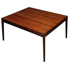 Rosewood Diplomat Desk, Conference Dining Table by Finn Juhl for CADO 1960