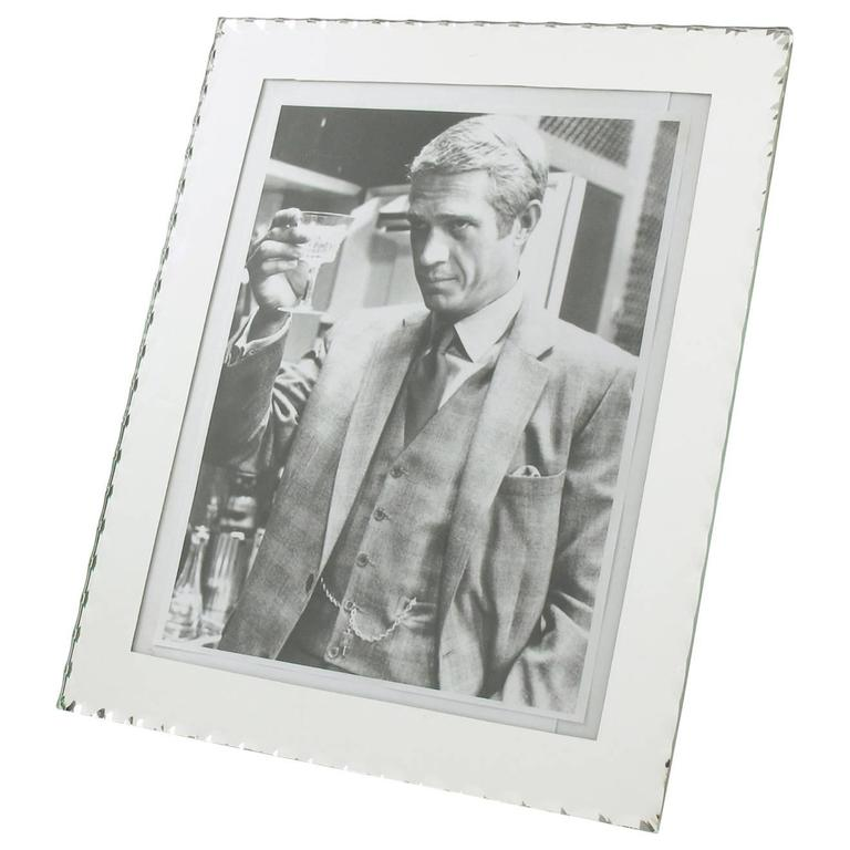 Extra Large Mirror Picture Photo Frame, France, circa 1940s