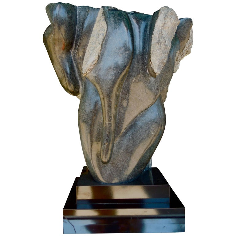 20th Century Modern Abstract Marble Sculpture