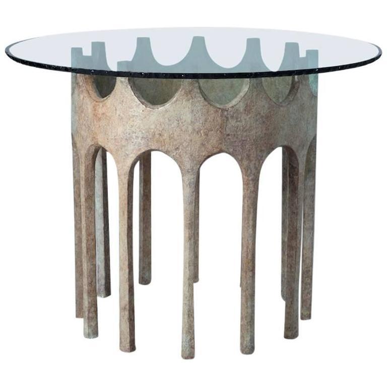 Samarcande High Pedestal, Made of Bronze, Limited Edition  For Sale