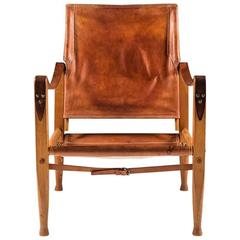 Safari Chair by Kaare Klindt in Cognac Leather
