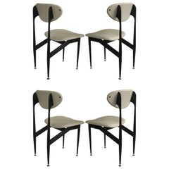 Grant Featherston Scape Dining Chairs by Aristoc, 1960s, Set of Four