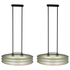 Chandelier by Mario Barbaglia and Marco Colombo for PAF Studio, Milano