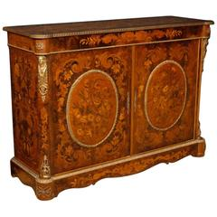 20th Century, French Sideboard with Floral, Inlay