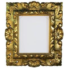 Rare 17th Century Gold Leaf Museum Frame