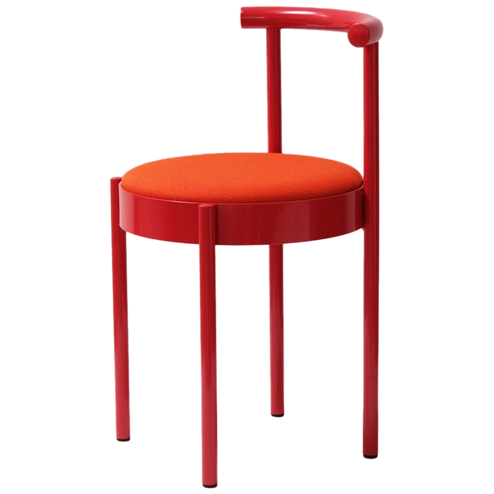 Soft Red Chair by Daniel Emma, Made in Australia