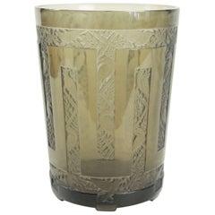 Rene Lalique Vase Grimpereaux