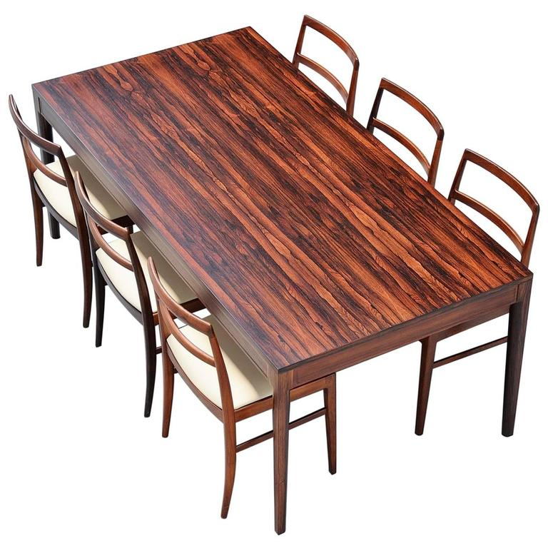 Finn Juhl Diplomat Dining Table France & Son, Denmark, 1962