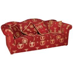 High Quality Original Club Sofa Three-Seat in English Style