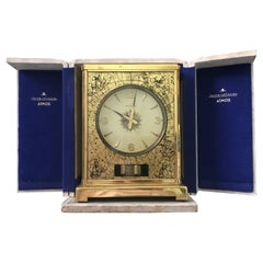 Skymap 1950s Le Coultre Classic Model Swiss Atmos Clock with Box