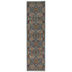 Serapi, Hand-Knotted Runner Rug