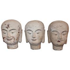 Vintage Buddha Head Accessory