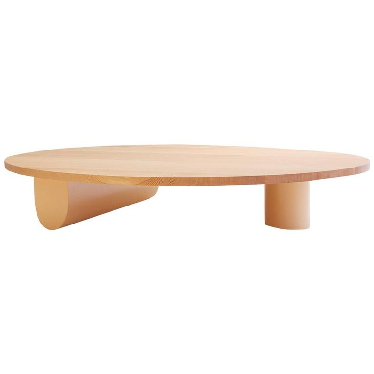 Isla Coffee Table, Solid Wood and Lacquer