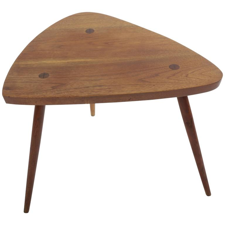 Walnut Wepman Table by George Nakashima For Sale