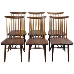 Set of Eight New Style Chairs by George Nakashima