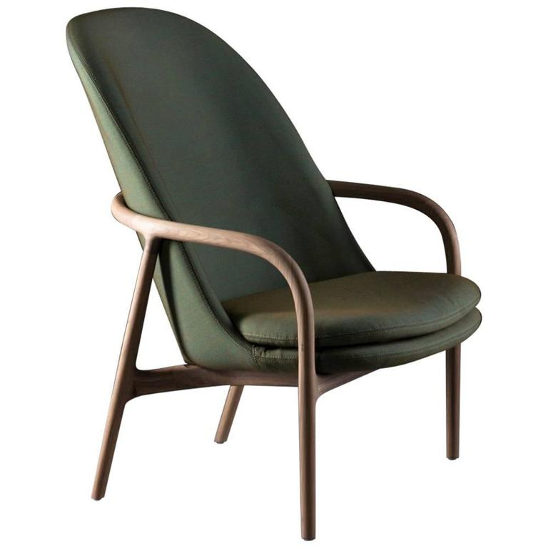 Artisan Handcrafted Lounge Chair For Sale at 1stdibs