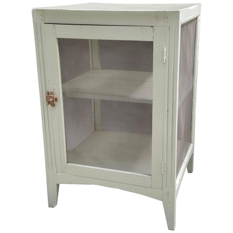 Vintage French Cheese Cabinet
