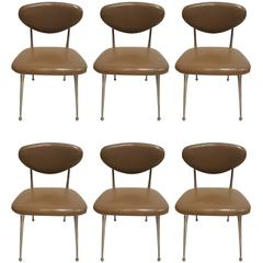 Set of Six Gazelle Side Chairs