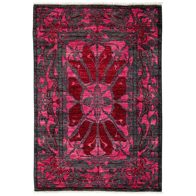 Pink Shalimar Area Rug For Sale At 1stdibs