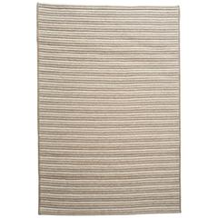 Natural Woven Wool Rug Tan Cream, Custom Crafted in the USA & Reversible, Pacha