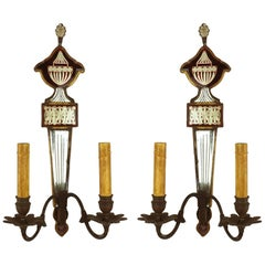Pair of 19th Century English Regency Sconces
