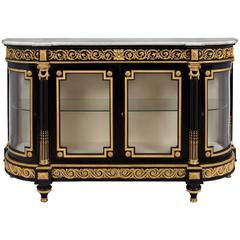 French Mid-19th Century Louis XVI Style Buffet Attributed to Befort Jeune