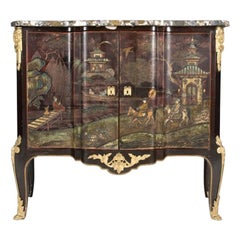 Louis XV Style Chinoiserie Coromandel Commode, 19th Century