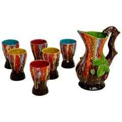 Vallauris Ceramic Drinking Set