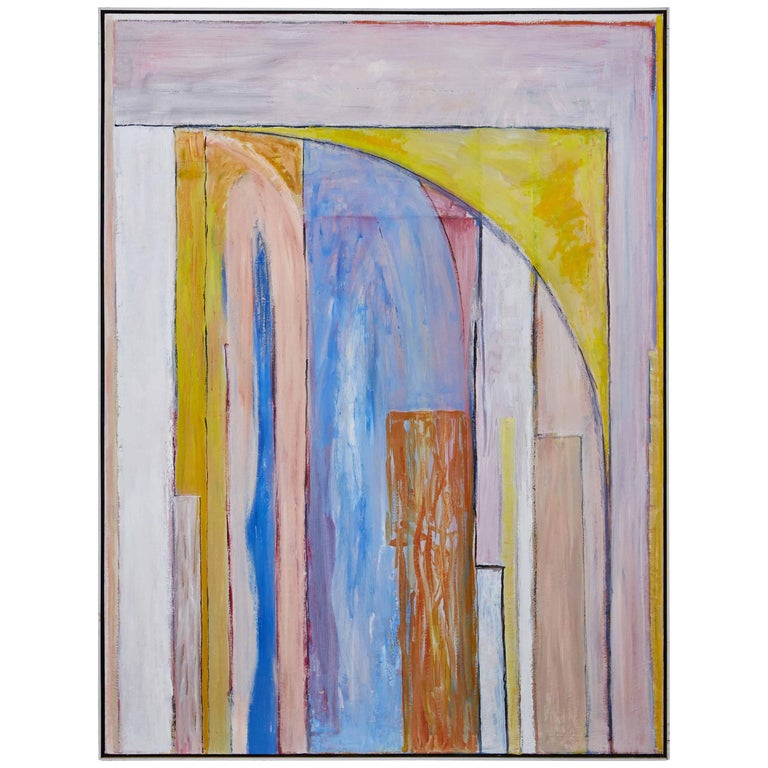 Signed, Abstract Oil Painting by David Sorensen
