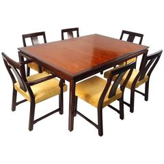 Edward Wormley for Dunbar Formal Dining Table and Chairs