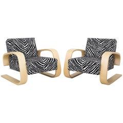 Tank Chairs Model 400 by Alvar Alto