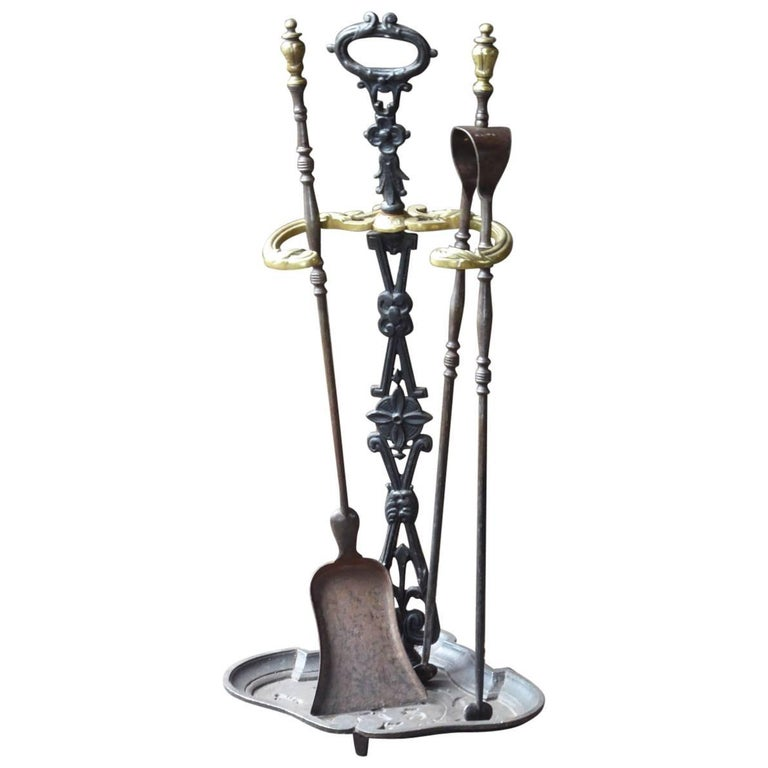 19th Century French Fireplace Tools For Sale At 1stdibs