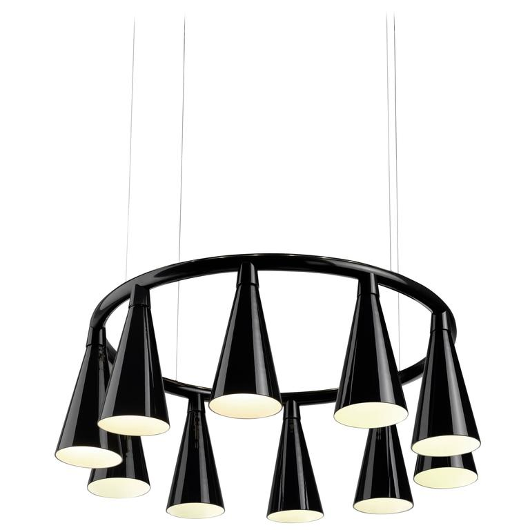 Komori R10 chandelier, new, offered by WonderGlass
