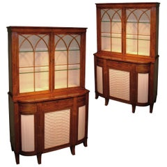19th Century regency period rosewood bookcases