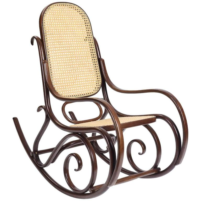 Schaukelstuhl Lounge Rocking Chair, Contemporary Rocking Chair In Solid  Wood For Sale