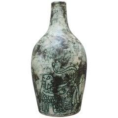 Ceramic Vase by Jacques Blin, circa 1950s