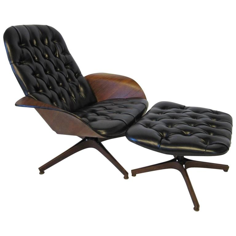 Plycraft Quot Mr Chair Quot Lounge Chair And Ottoman By George