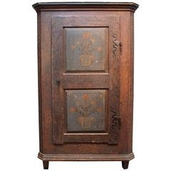 19th Century Austrian Painted Cupboard