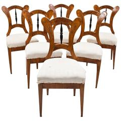 Biedermeier Chairs, South German Austria, 1830-1835