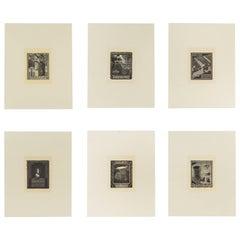 Individual Woodcut Prints by M.C. Escher