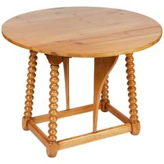Vintage Pine Drop-Leaf Table